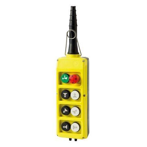 Kaseta sterownicza, start, grzybek, 6 przycisków podwójnej prędkości plb08d6 marki Giovenzana