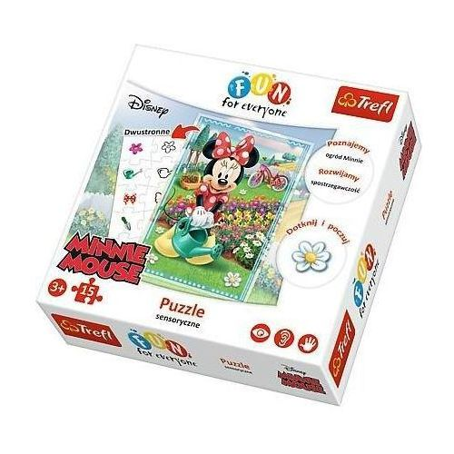 Trefl Puzzle ffe 15 minnie ( fun for everyone ) (5900511240085)