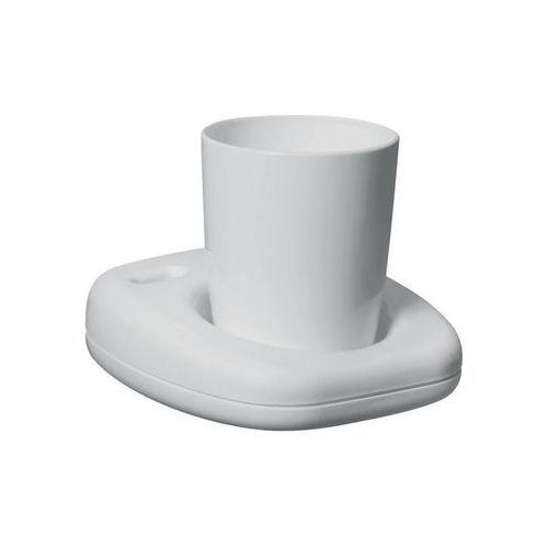 Bisk Kubek łazienkowy oceanic plastik biały