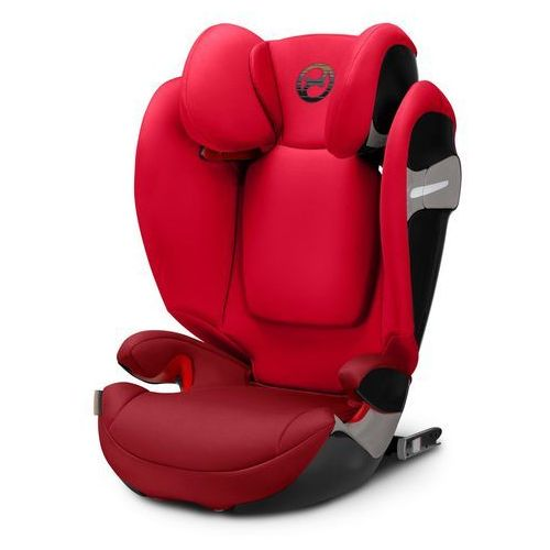 cybex GOLD Fotelik samochodowy Solution S-Fix Rebel Red-red (4058511252322)