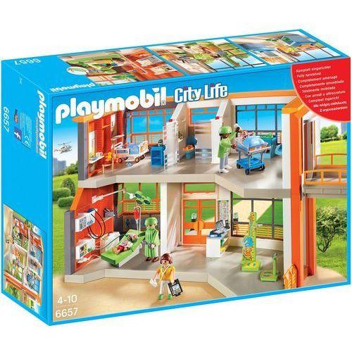 Playmobil CITY LIFE Szpital dziecięcy z wyposażeniem 6657