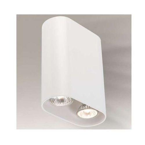 Kinkiet LAMPA ścienna INAGI 4443/GU10/BI Shilo minimalistyczna OPRAWA metalowa biała (1000000343588)