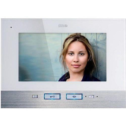 Domofon m-e modern-electronics VDV 507 WW VDV 507 WW, Jednostka wewnętrzna, Interkom drzwiowy z wideo, Dom jednorodzinny