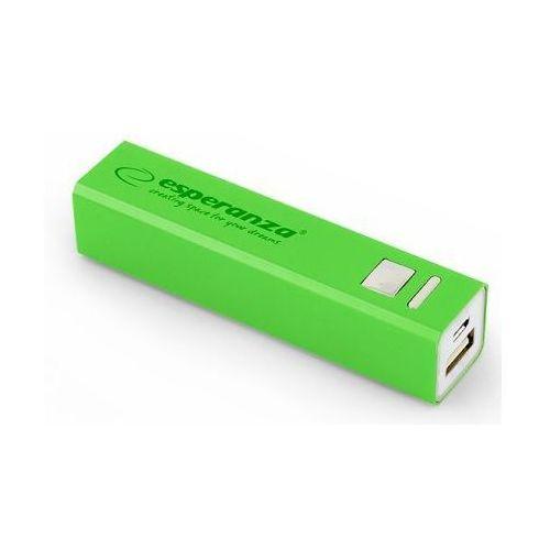 Ładowarka akumulator ESPERANZA POWER BANK ERG 2400mAh - zielony