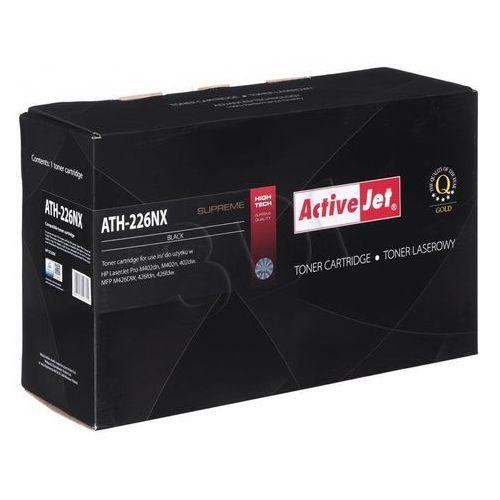 Toner ath-226nx black do drukarek hp (zamiennik hp 26x / cf226x) [9k] marki Activejet