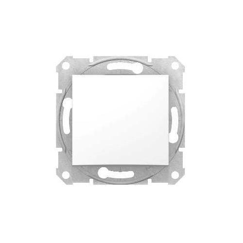 Schneider electric Przycisk zwierny schneider sedna sdn0700121 pojedynczy biały