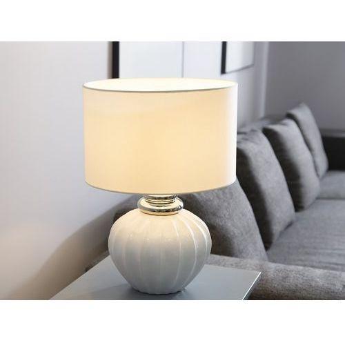 lampa stołowa biała NERIS
