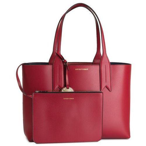 Torebka EMPORIO ARMANI - Y3D081 YH15A 83917 Rubino/Blu Notte, kolor czerwony