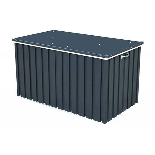 Skrzynia ogrodowa na taras Compact Box 585l antracytowa - Transport GRATIS! (0638801710516)