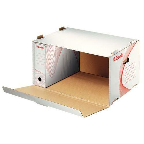 Pudło archiwizacyjne otwierane od przodu na pudła białe (360x258x540) marki Esselte