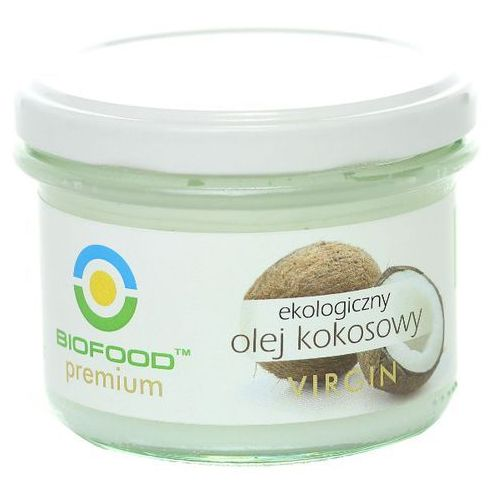Olej kokosowy virgin bio 180ml -  marki Bio food
