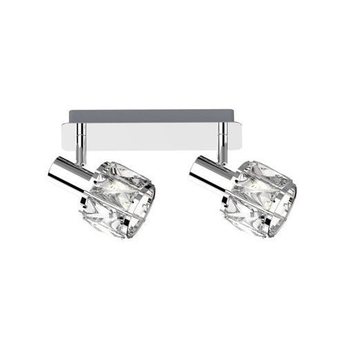 Zuma Line Niasa CK20181015-2listwa lampa sufitowa spot 2x40W E14 srebrna, kolor Srebrny