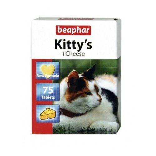 Beaphar Kitty's cheese 75szt. - tabletki witaminowe o smaku sera dla kotów