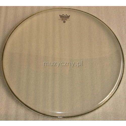 Remo bd-0316-00 diplomat 16″ przeźroczysty, naciąg perkusyjny