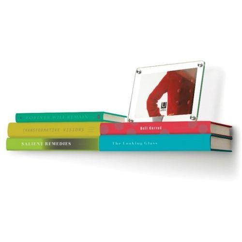 Półka na książki Umbra Conceal podwójna 46x18 cm, 325632-410. Najniższe ceny, najlepsze promocje w sklepach, opinie.