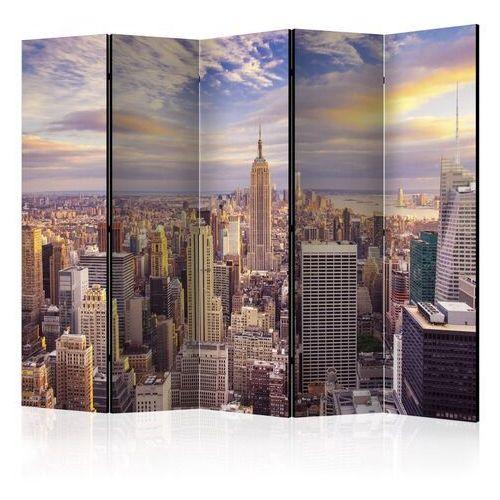 Artgeist Parawan 5-częściowy - nowojorski poranek ii [room dividers]