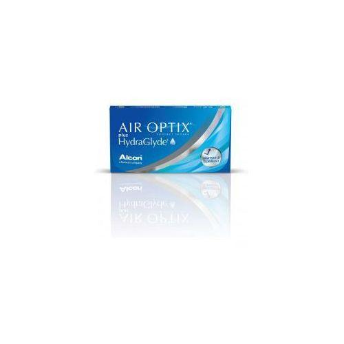 Air Optix Plus HydraGlyde - 3 sztuki w blistrach