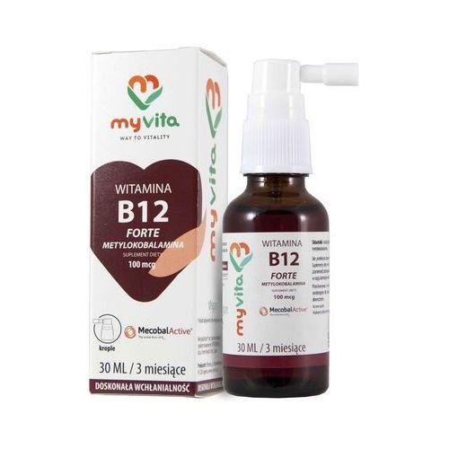 Krople MyVita Witamina B12 w KROPLACH 100mcg 30ml - Metylokobalamina