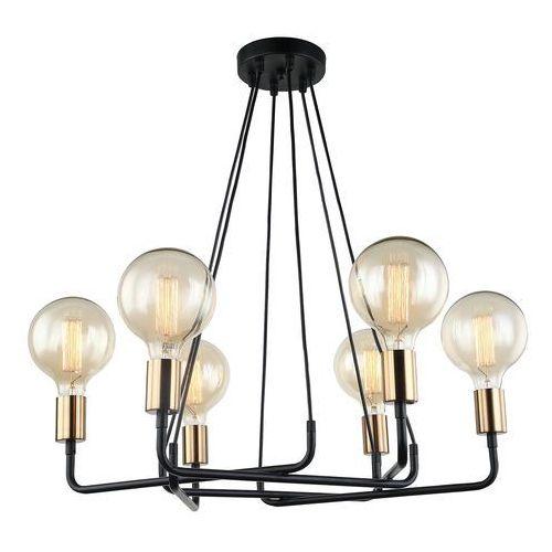 Lampa wisząca betty mdm-3901/6 bk+bro - - rabat w koszyku marki Italux