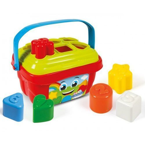 Clementoni Koszyk kształtów i kolorów (8005125171064)