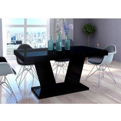 Mato design Stół vega luk rozkładany do 260 cm czarny wysoki połysk