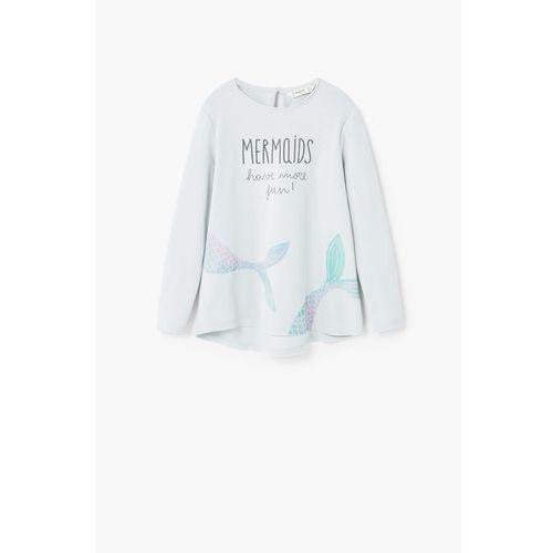 - bluza dziecięca mermaid 104-164 cm wyprodukowany przez Mango kids