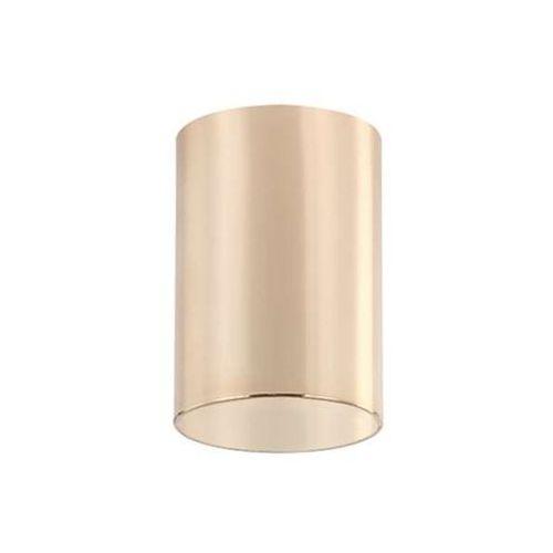 Orlicki design Natynkowa lampa sufitowa kika gold metalowa oprawa tuba downlight złota (1000000471007)