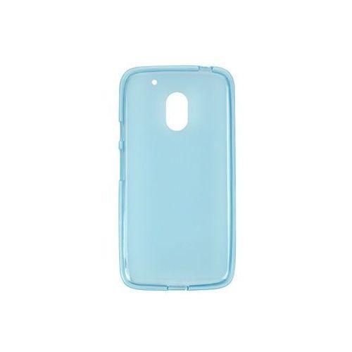 Lenovo Moto G4 Play - etui na telefon FLEXmat Case - niebieski, ETLN367FLMTBLU000