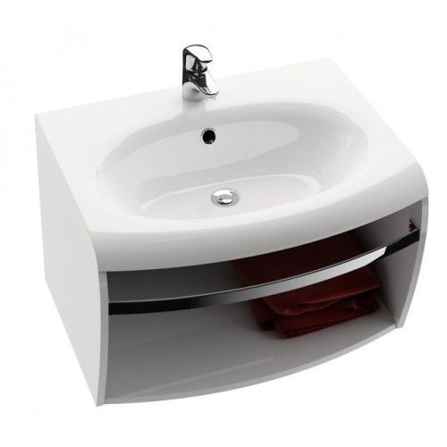 szafka pod umywalkę sd evolution, z relingiem, biała x000000364 marki Ravak