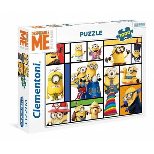 Puzzle 1000 High Quality Collection Minionki - Clementoni, AU_8005125394074