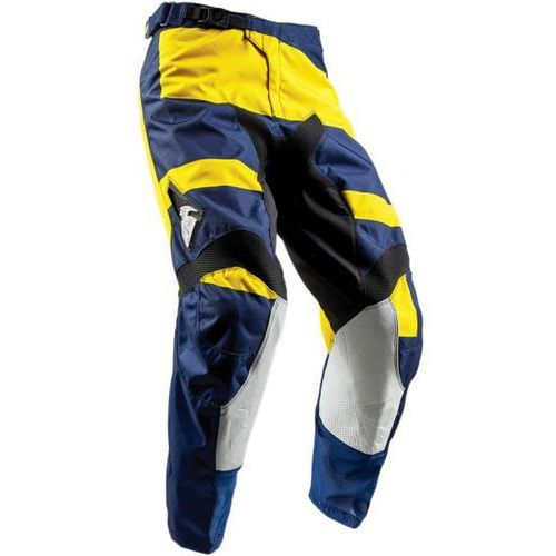 Thor_2018 Thor spodnie pulse level s8 offroad navy/yellow =$