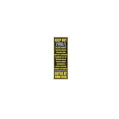 Zakaz Wstępu - Pokój Gracza - Wersja Dla Dorosłych - plakat (5028486096084)