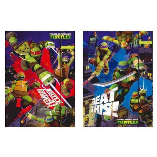 Starpak Teczka z gumką a4 żółwie ninja (5901350226865)