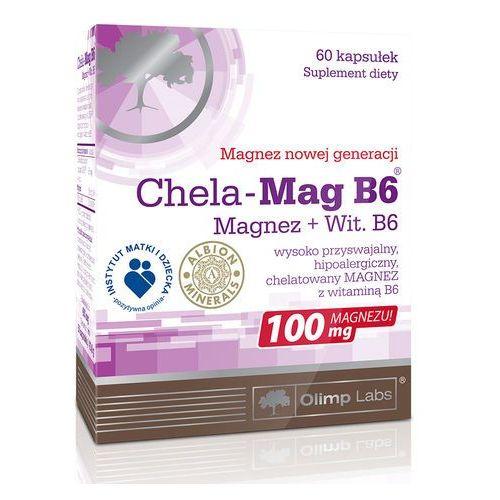 Chela-Mag B6 - Magnez Wit B6 60 kaps Olimp