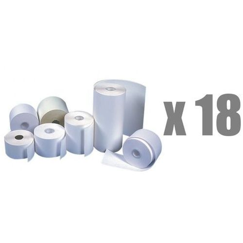 Rolki papierowe do kas termiczne Emerson, 37 mm x 30 m, opakowanie 18 x zgrzewka 10 rolek - Autoryzowana dystrybucja - Szybka dostawa