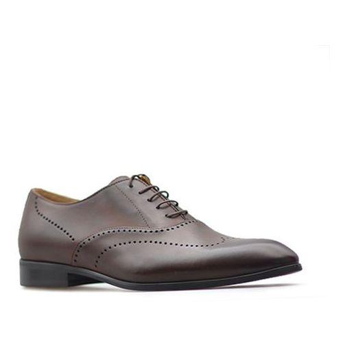 Pantofle 1742 brązowe marki Duo men