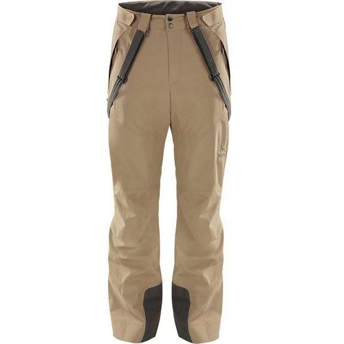 538f0136843296 Haglöfs Nengal Spodnie długie Mężczyźni beżowy S 2018 Spodnie narciarskie  (7318841160986)