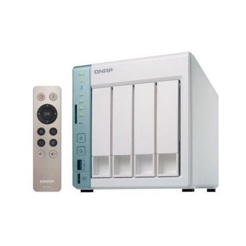 Qnap Serwer nas  ts-451a-4g, intel celeron n3060 dual core 1.6ghz, turbo 2.48ghz, ram 4gb ddr3l (2x2gb; max. 8gb)