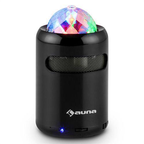Auna Discohead Głośnik Bluetooth LED bezprzewodowy MP3 Radio Instalacja głośnomówiąca, kup u jednego z partnerów