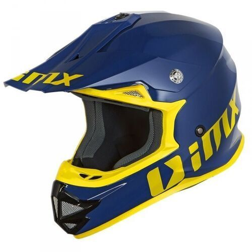 Kask off-road fmx-01 play blue/yellow marki Imx