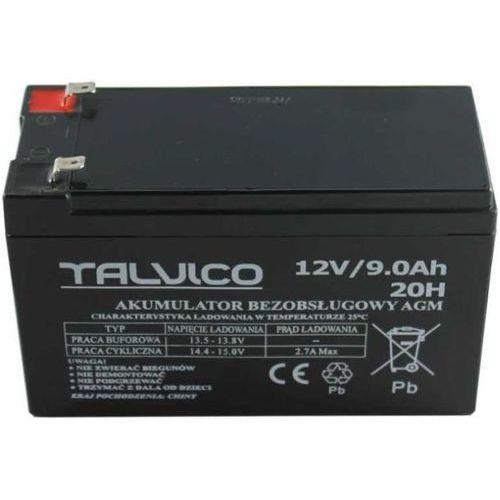 Akumulator żelowy AGM 12V 9Ah TALVICO, towar z kategorii: Zasilacze do obudów
