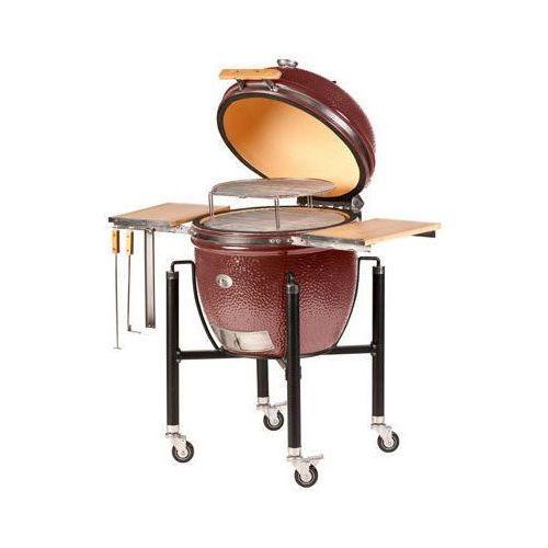 Monolith grill (germany) Grill ceramiczny classic pro 1.0, ruszt 46, bordowy