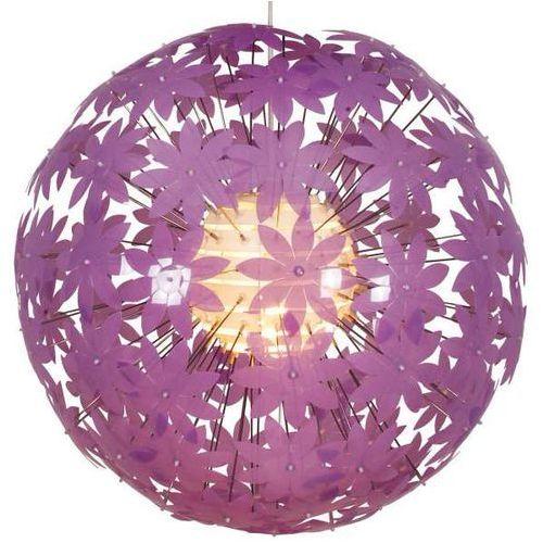 LAMPA wisząca FLOWER BOWL 7024424 Nave okrągła OPRAWA nowoczesna ZWIS do pokoju dziecięcego kula ball fioletowa (1000000134452)
