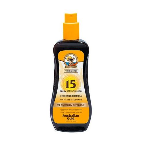 Australian gold spf 15 carrot intensifier oil spray | przyspieszacz opalania 237ml