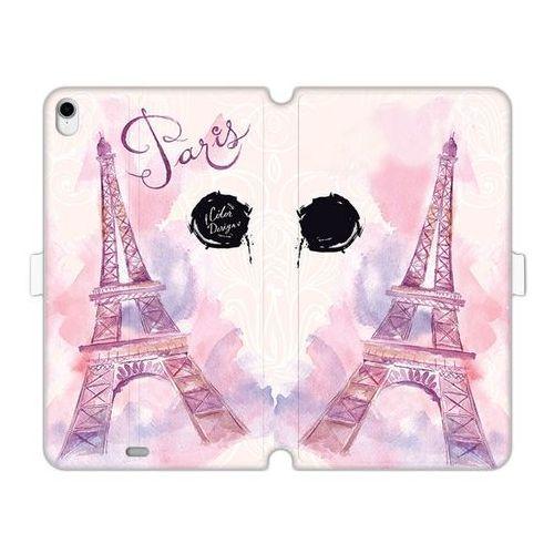 Apple iPad Pro 11 - etui na tablet Wallet Book Fantastic - różowa wieża eiffla, ETAP818WBFCFB104000
