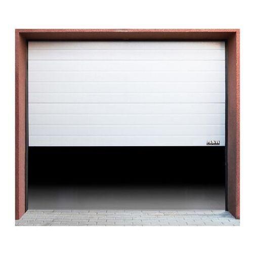 Msw Segmentowa brama garażowa - 2375 x 2125 mm - biała