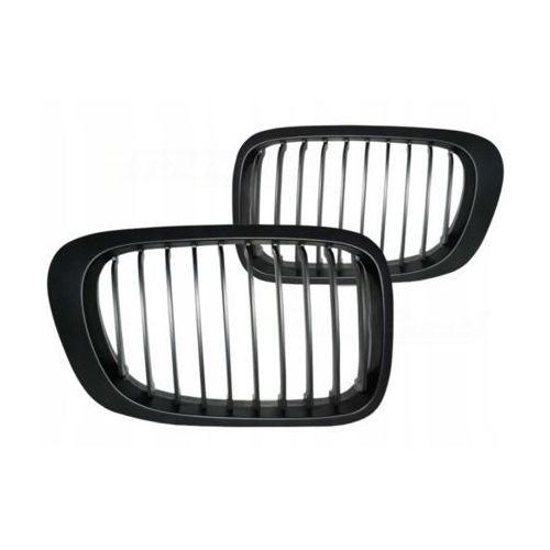 Grill nerki bmw e46 04.99-03.03 coupe black matowy marki Tec