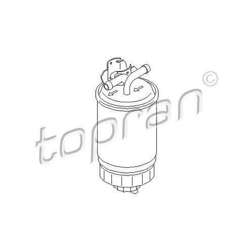 Filtr paliwa TOPRAN 109 243