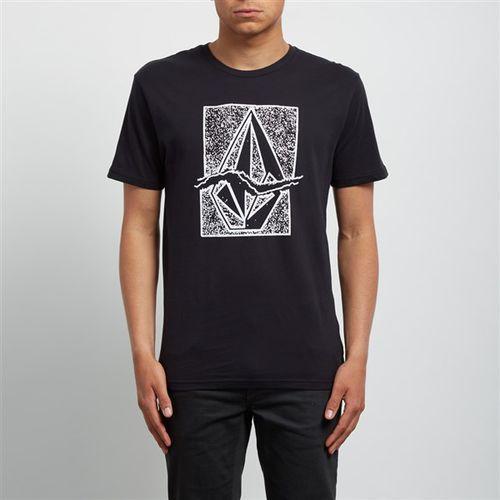 koszulka VOLCOM - Rip Stone Bsc Ss Black (BLK) rozmiar: XL, kolor czarny