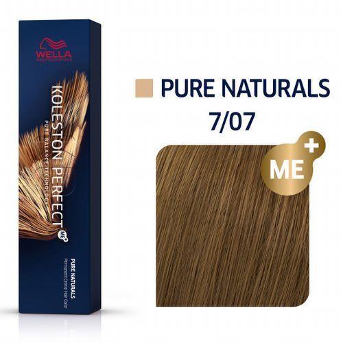 Wella professionals Wella koleston perfect me+   trwała farba do włosów 7/07 60ml